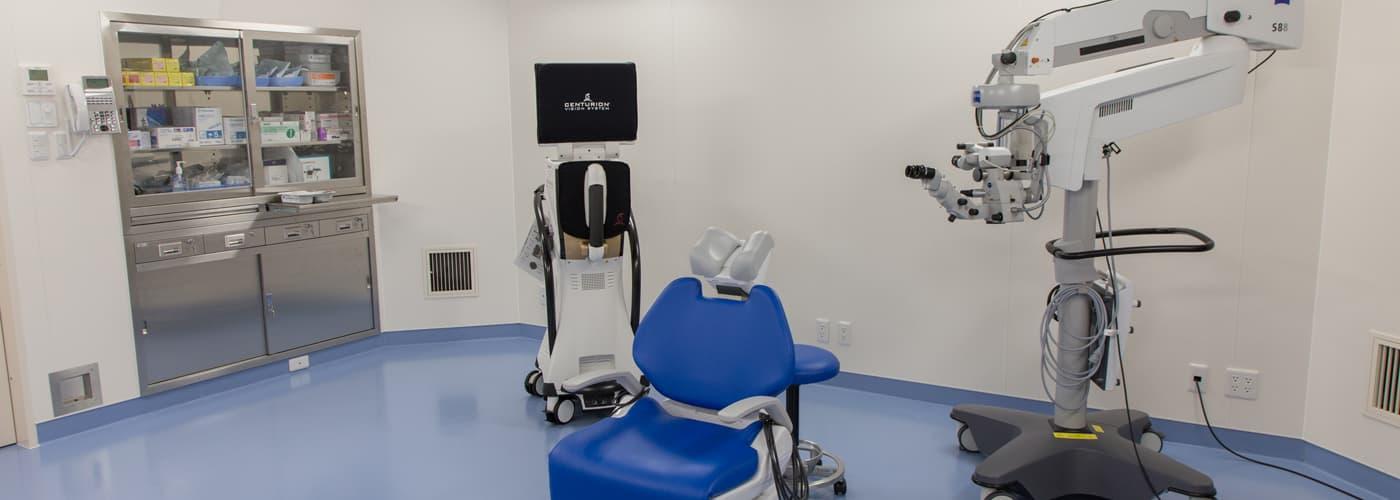 長谷川眼科 手術室